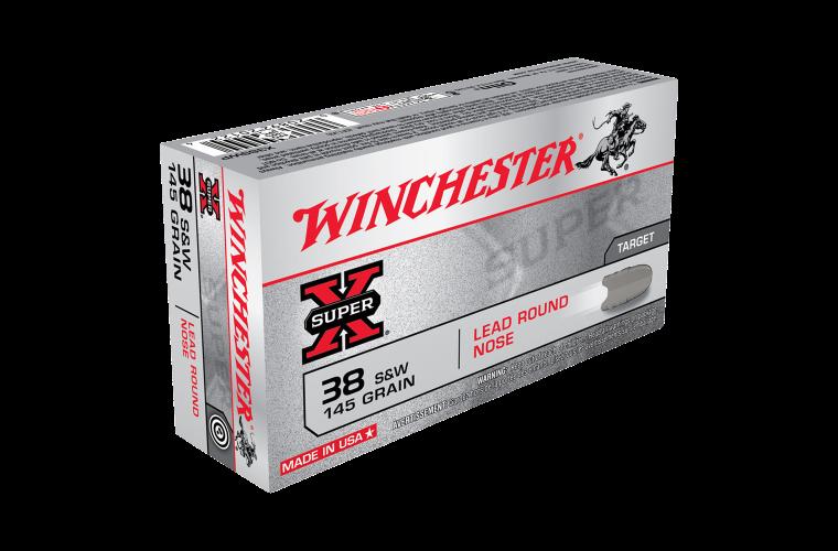 Winchester Super X 38S&W 145gr LRN