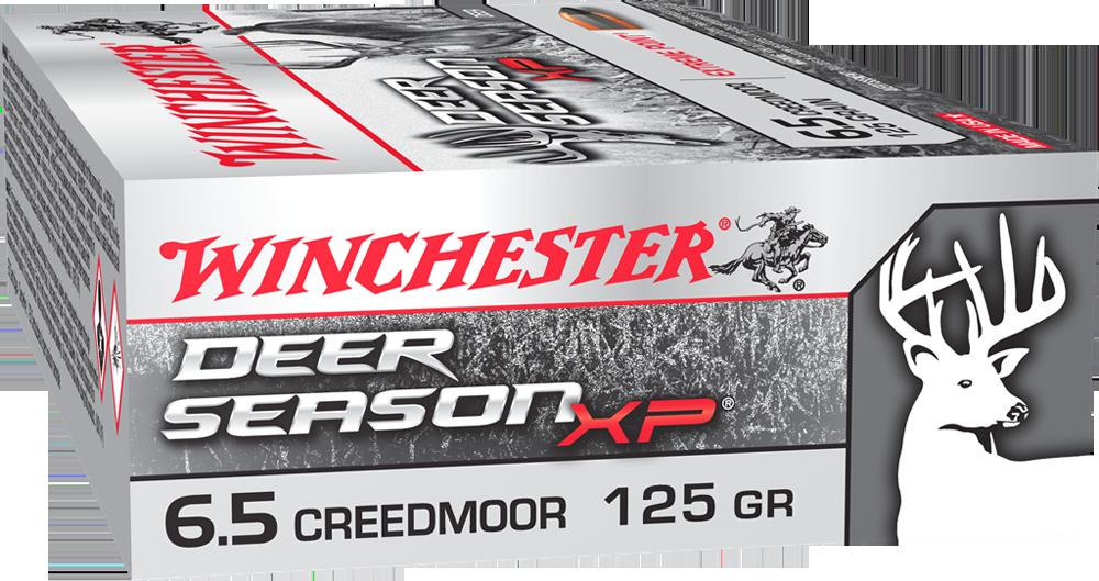 Winchester Deer Season 6.5 Creedmoor 125gr XP