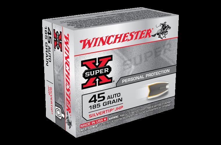 Winchester Super X 45 Auto 185gr STHP