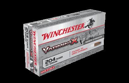 Winchester Varmint X 204Ruger 32gr PT