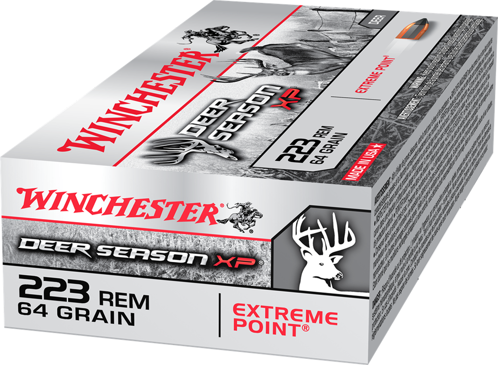 Winchester Deer Season 223Rem 64gr XP