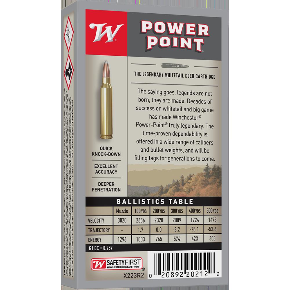Winchester Super X 223Rem 64gr PP