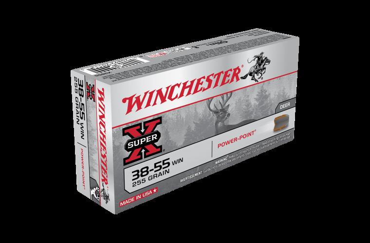 Winchester Super X 38-55Win 255gr SP