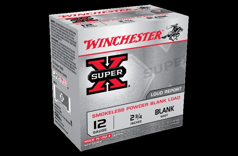 Winchester Super X Trial Popper 12G blank 2-3/4