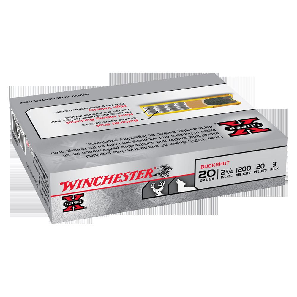 Winchester Super X 20ga 3 Buck 2-3/4