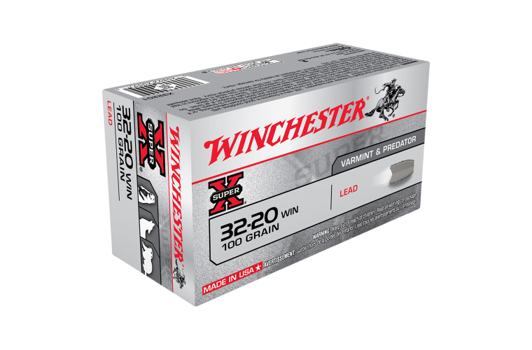 Winchester Super X 32-20Win 100gr Lead