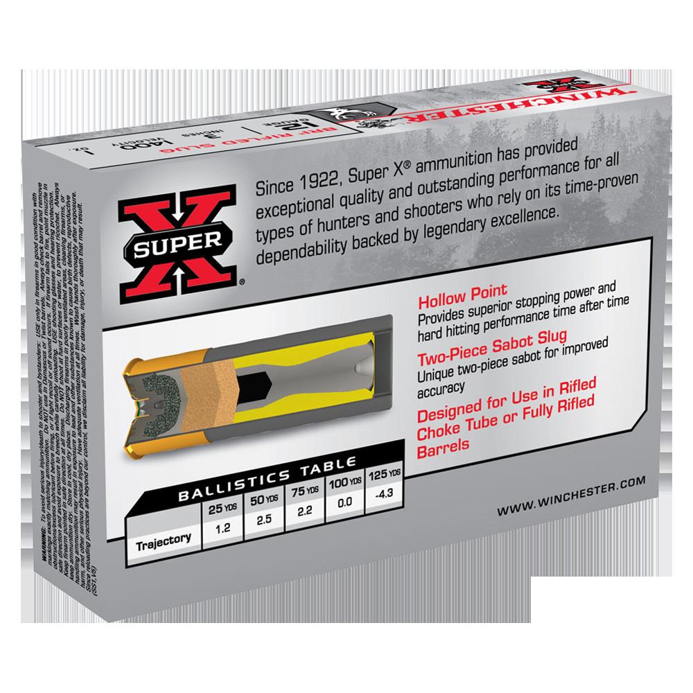 Winchester Super X 12G Sabot slug 3