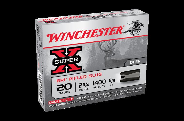 Winchester Super X 20G Sabot Slug 2-3/4