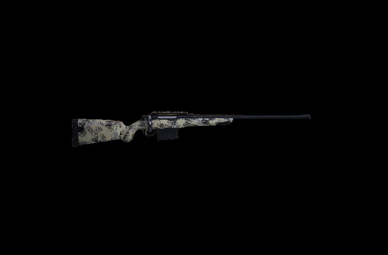 Gunwerks ClymR 7MMSAUM LR Target Rifle 3rnd Tan Black