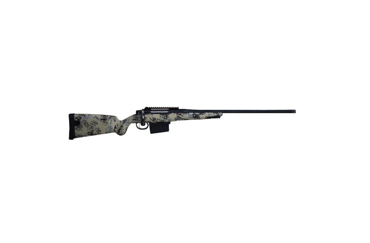 Gunwerks ClymR 300WM LR Target Rifle 3rnd 5 Tan Black