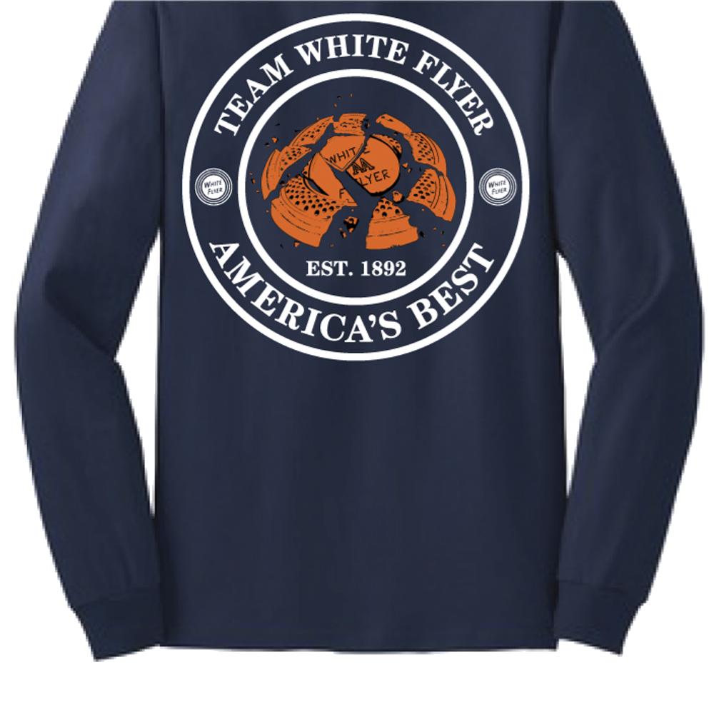 White Flyer L/S Shirt Medium