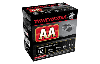 Winchester AA Lite Target 12G 7.5 2-3/4