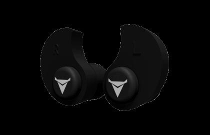 Decibullz Custom Molded Earplugs Black