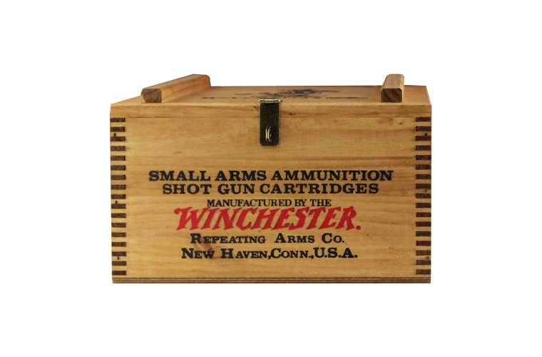 Winchester Vintage Wooden Box Winchester