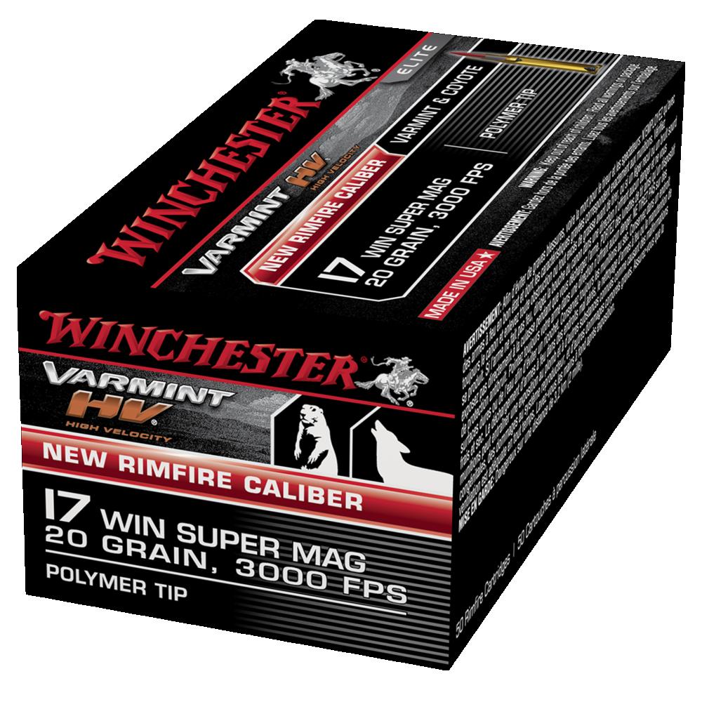 Winchester Varmint HV 17WSM 20gr