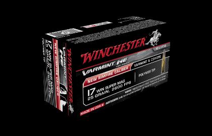 Winchester Varmint HE 17WSM 25gr