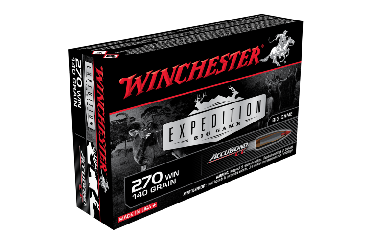 Winchester Expedition Big Game 270Win 140gr ABCT