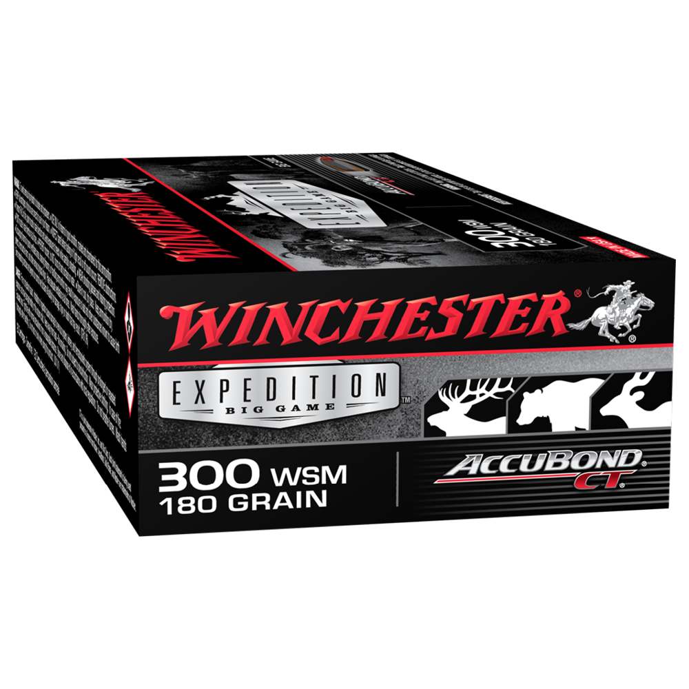 Winchester Expedition Big Game 300WSM 180gr ABCT