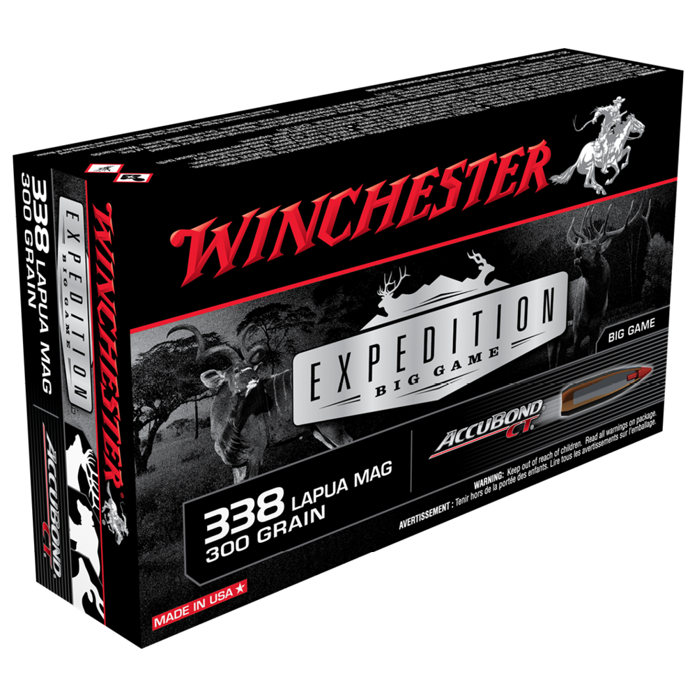 Winchester   Winchester Expedition Big Game 338Lapua 300gr ABCT