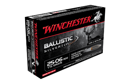 Winchester Ballistic ST 25-06Rem 115gr PT