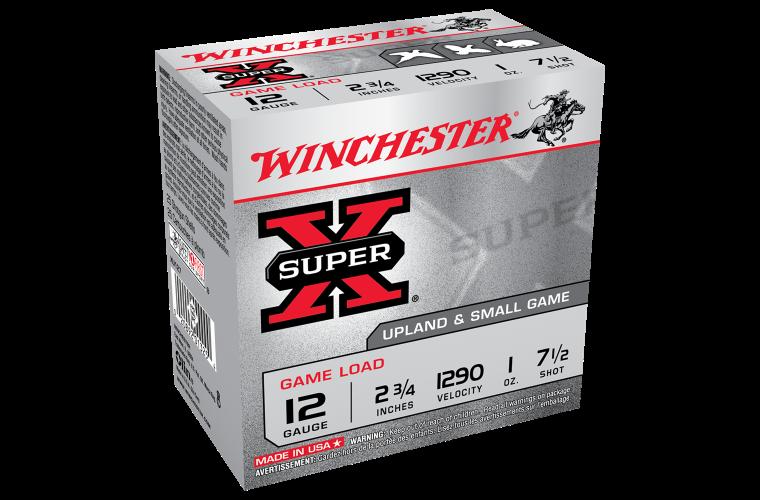 Winchester Super X 12ga 7.5 2-3/4