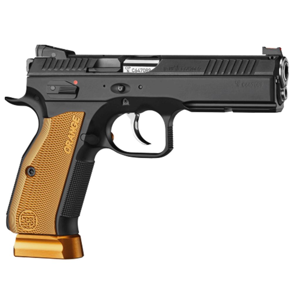 CZ 75 SP-01 Shadow 2 9MM 120mm Orange, 2 S/Mags 10rnd Mag