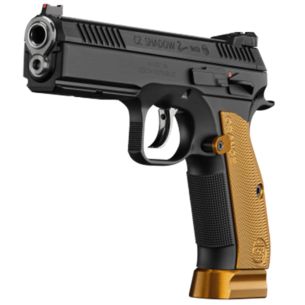 Winchester | CZ 75 SP-01 Shadow 2 9MM 120mm Orange, 2 S/Mags