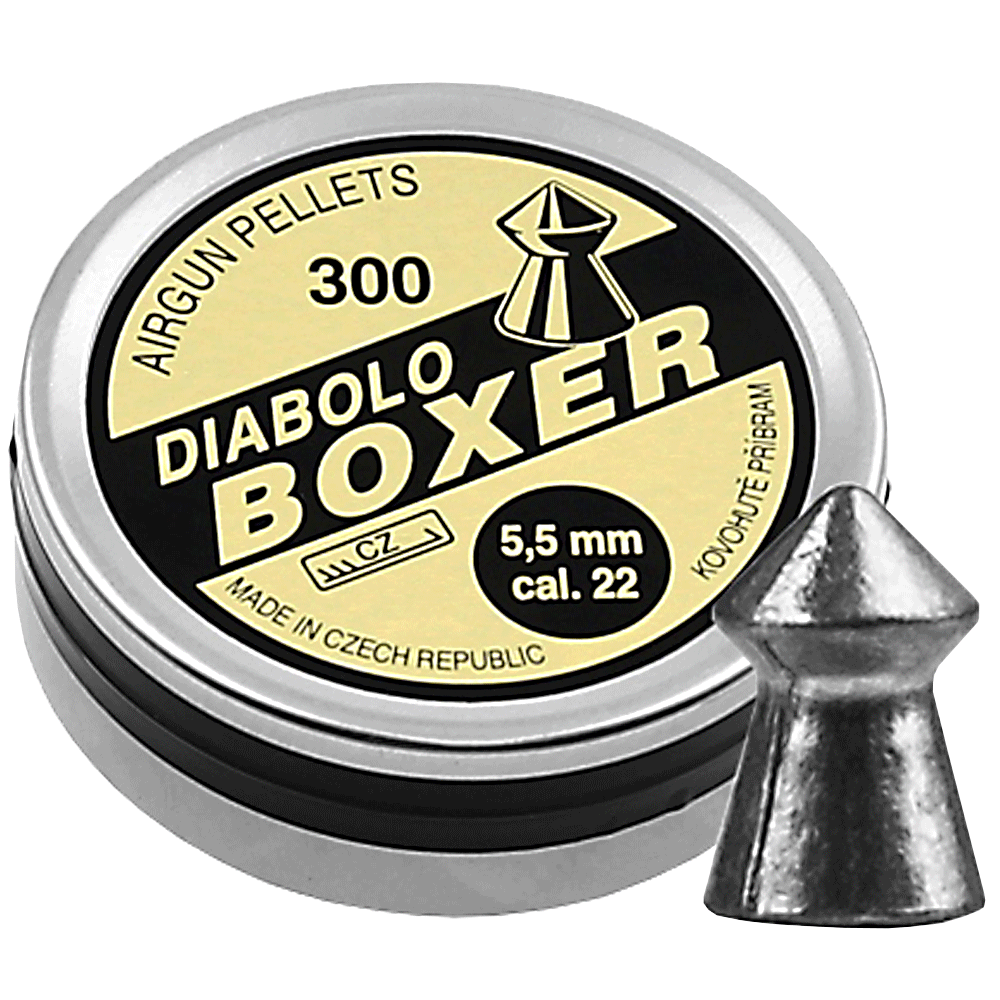 Diabolo Boxer .22 300pcs