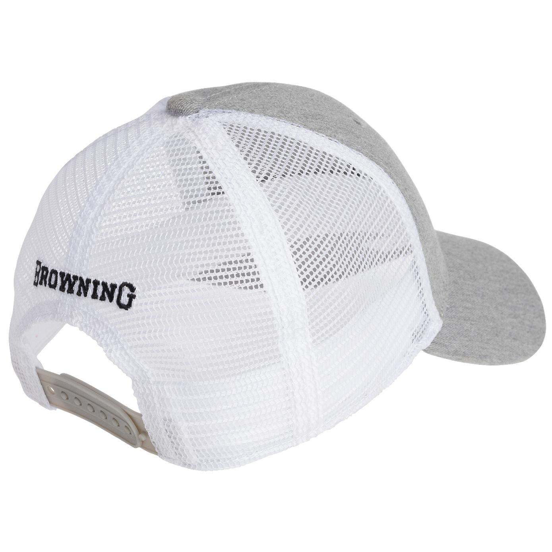 Browning Gameday Heather Grey Cap