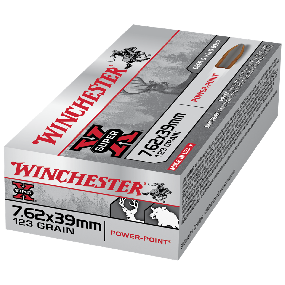 Winchester Super X 7.62x39mm 123gr SP