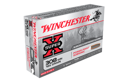 Winchester Super X 308Win 185gr Subsonic