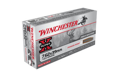 Winchester Super X 7.62x39mm 123gr SP