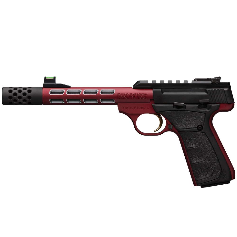 Browning Buck Mark Vision Red 22LR S/Mag 10rnd