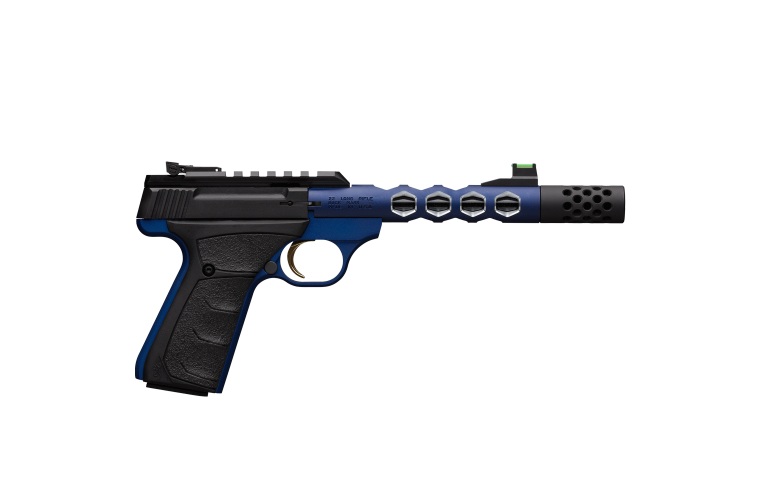 Browning Buck Mark Vision Blue 22LR S/Mag 10rnd
