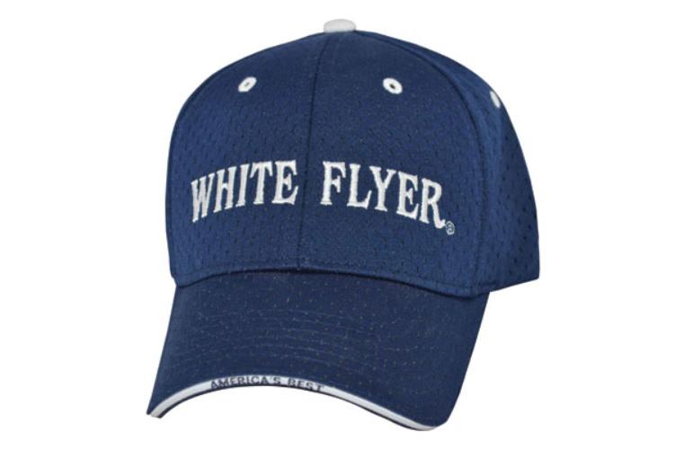 White Flyer Navy Cap