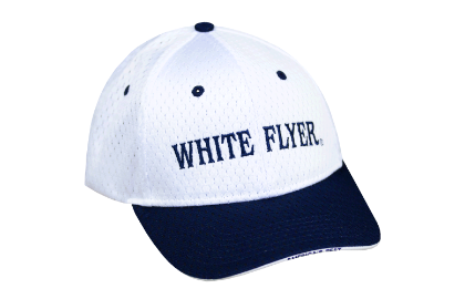 White Flyer Navy Cap