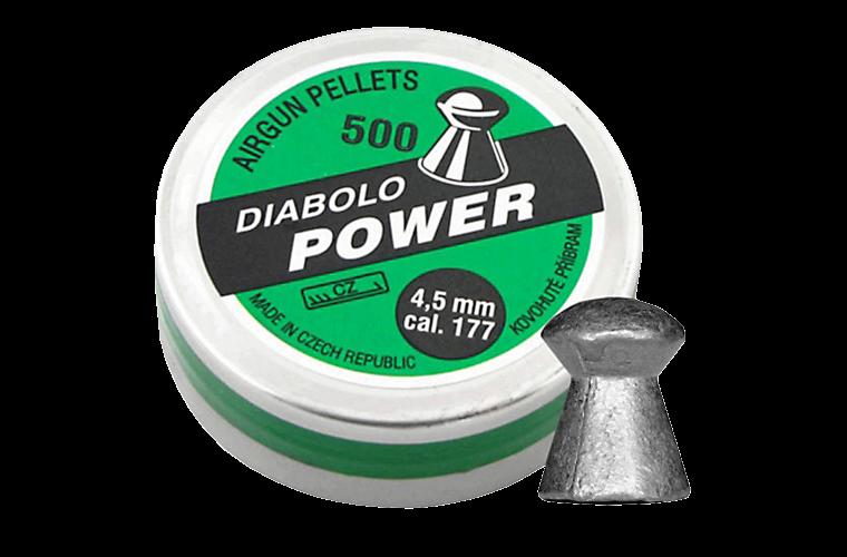 Diabolo Power .177 500pcs