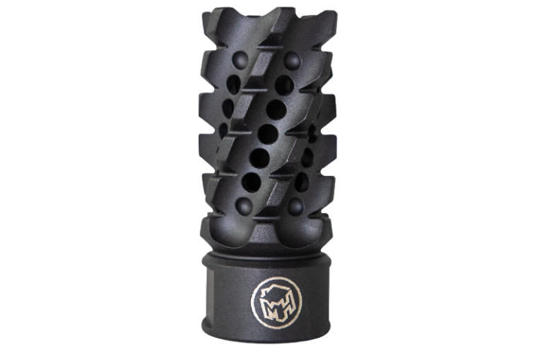 Madhouse Design XHC 515 Black Helix 223rem Muzzle Brake