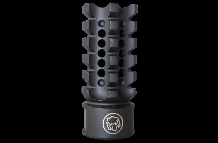 Madhouse Design XHC 515 Black Serrated 223rem Muzzle Brake