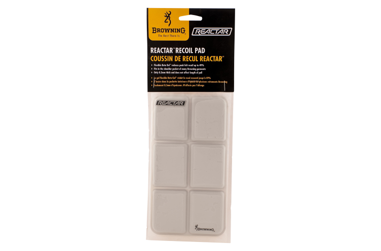 Browning reactor shooting vest pad grey