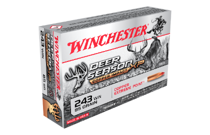 Winchester Deer Season Copper Impact LF 243Win 85gr XP