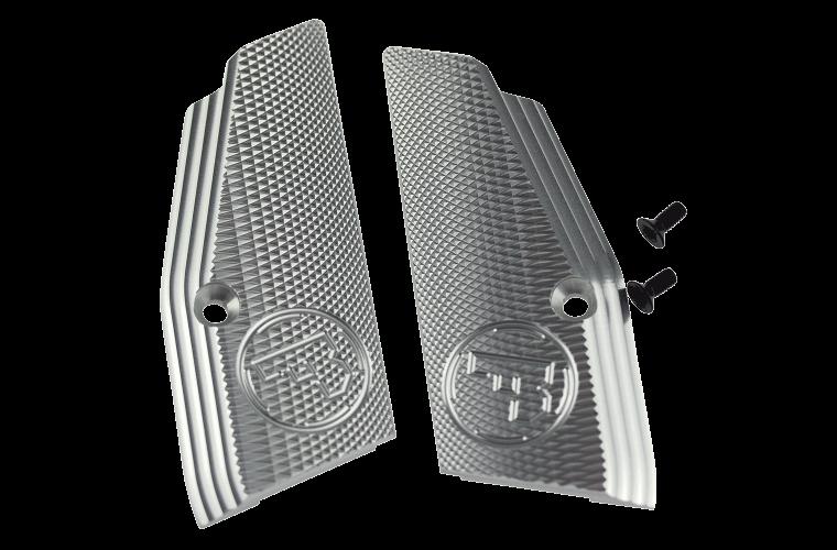 CZ 75 SP-01 Short Grips Silver