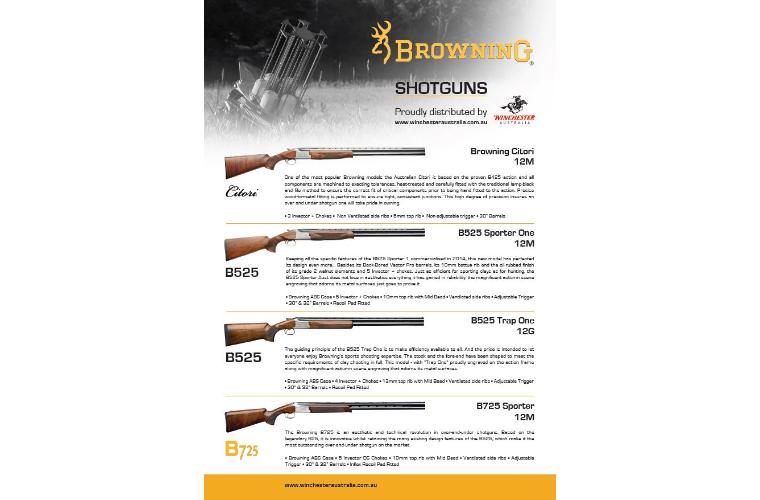 Browning Shotgun Range Flyer