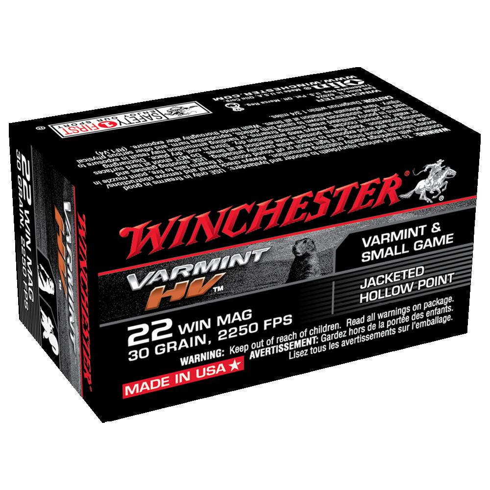 Winchester Varmint HV 22WMR 30gr JHP