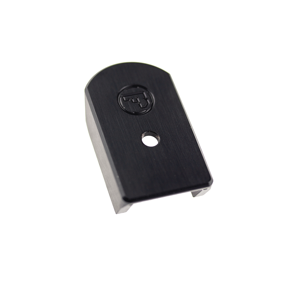 CZ 75 Magazine Extension Pad Black