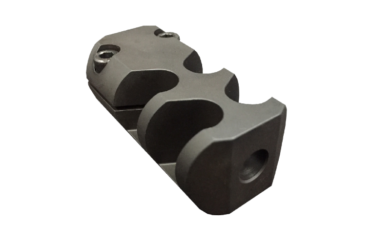 Grizzly Brake Tac Square 5/8x24 Blued