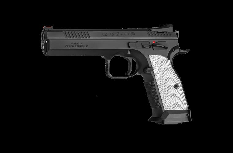 CZ TS 2 9MM Black 134mm 2 S/Mags 10rnd Mag