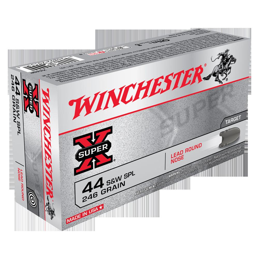 Winchester Super X 44 S&W Special 246gr LRN