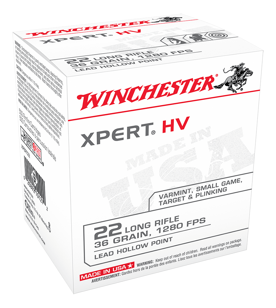 Winchester Xpert 22LR 36gr HP