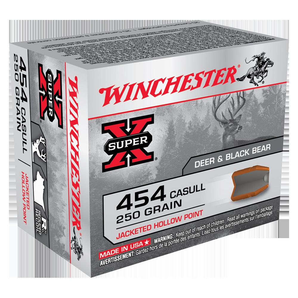 Winchester Super X 454 Casull 250gr JHP